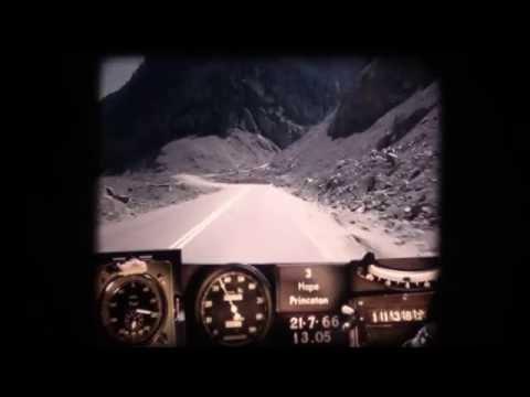 BC Road Trip Time Machine: BC Highway 3, Hope to Princeton, 1966