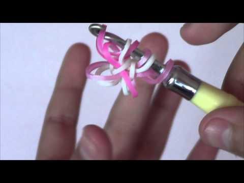 Astrid Rainbow Loom Hook Only Bracelet Tutorial -
