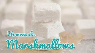 How to Make Homemade Marshmallows (Corn Syrup Free) - Gemma's Bold Baking Basics Ep 25