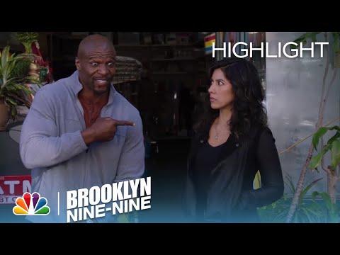 Terry Lets The Driver Know Rosa Is Single | Season 5 Ep. 22 | BROOKLYN NINE-NINE