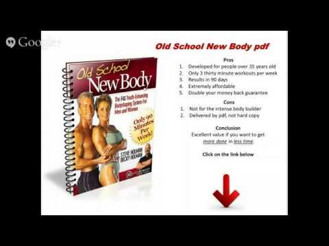 Old School New Body PDF | FREE BONUS | PDF Old School New Body