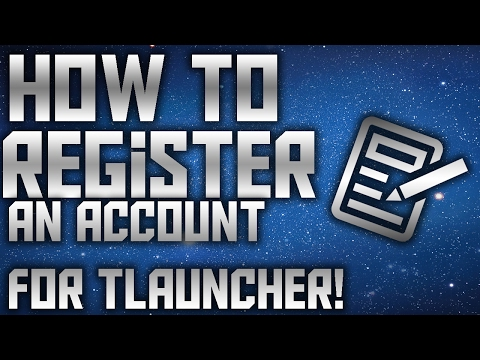 How To Register An Account For Tlauncher! (LEGIT) (OUTDATED)
