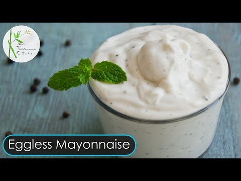 Eggless Mayonnaise   Quick & Easy Mayonnaise Recipe ~ The Terrace Kitchen