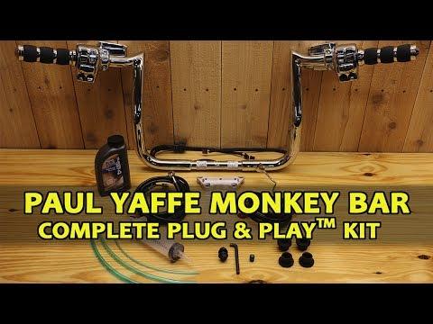 Paul Yaffe Monkey Bar Complete Kit 2014 - 2017 Harley Davidson