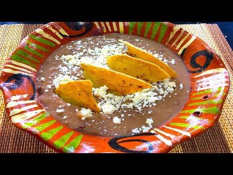 Refried beans recipe - Frijoles refritos