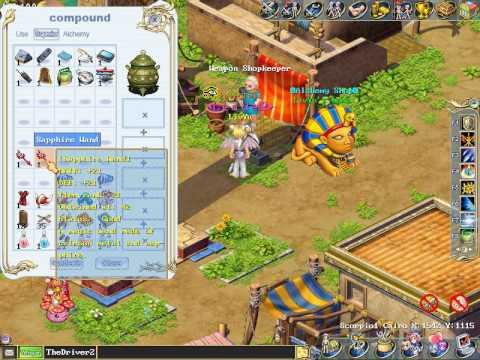 Wonderland Online Red Monster Clothes
