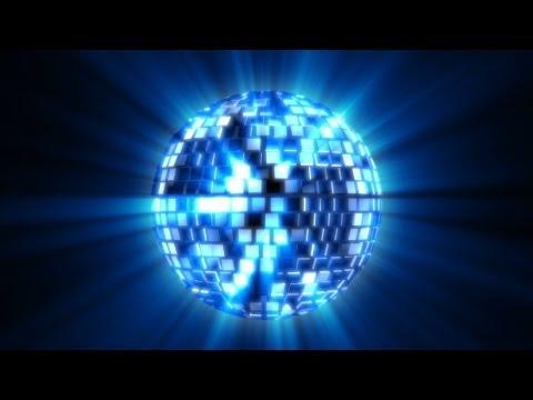 Shiny Mirror Disco Ball Spinning - 2 Styles Loop