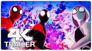 SPIDER-MAN: INTO THE SPIDER-VERSE Trailer #4 (4K ULTRA HD) NEW 2018