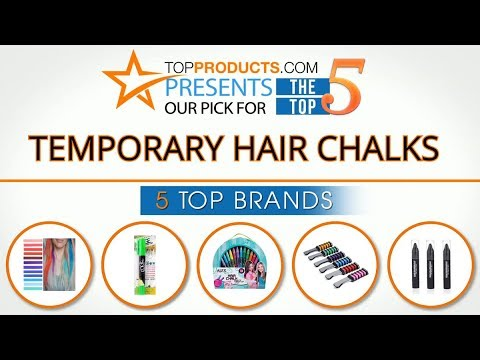 Best Temporary Hair Chalk Reviews 2017 – How to Choose the Best Temporary Hair Chalk