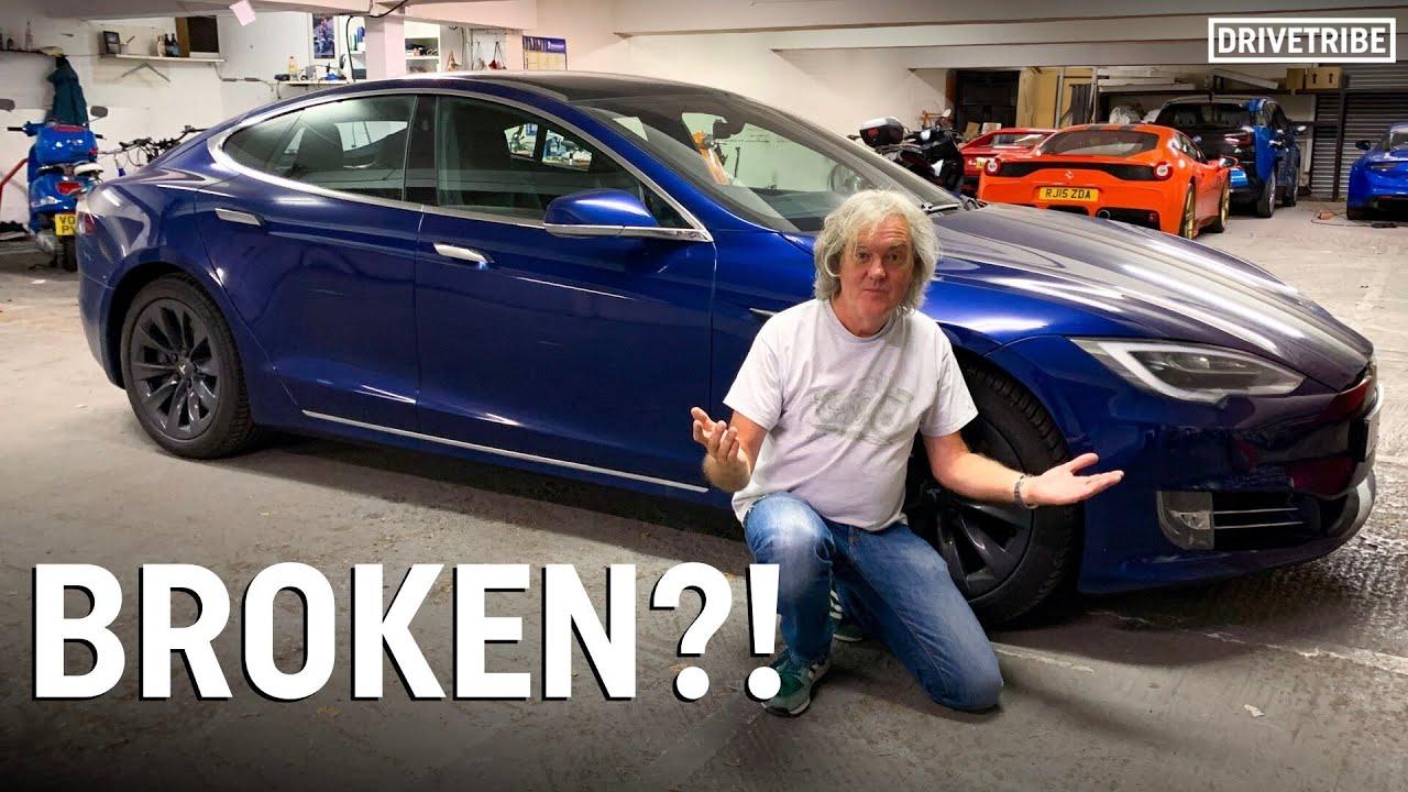 James May's Tesla Model S has failed!
