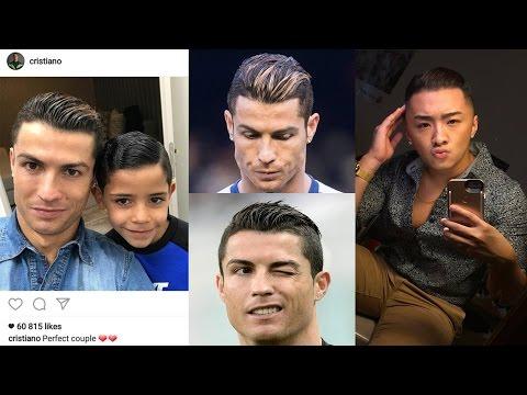 Style your hair like Ronaldo