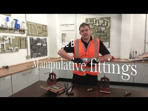 Joining copper pipes. Part 2: Compression fittings