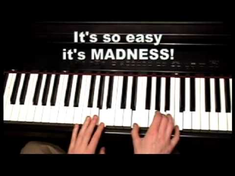 INGENIOUS way to learn Piano & Keyboard chords - 200 video piano lessons