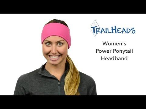 TrailHeads Women's Power Ponytail Headband