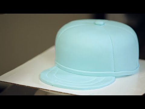 How to Make Brim for Baseball Cap Cake | Birthday Cakes