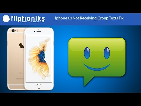 Iphone 6s Not Receiving Group Texts Fix - Fliptroniks.com
