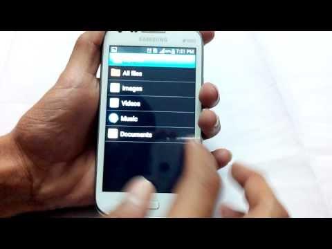 How to take Screen Shots on Galaxy Core GT-I8262 [HD]