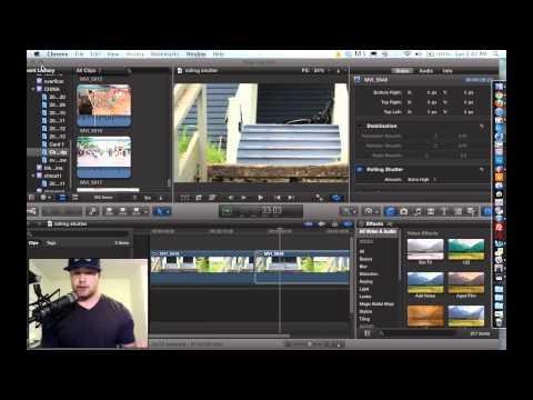 Rolling Shutter Tutorial - Final Cut Pro X