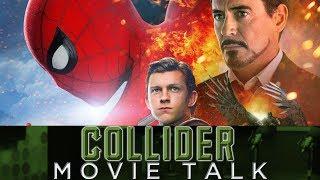 spiderman homecoming newest trailer collider movie talk