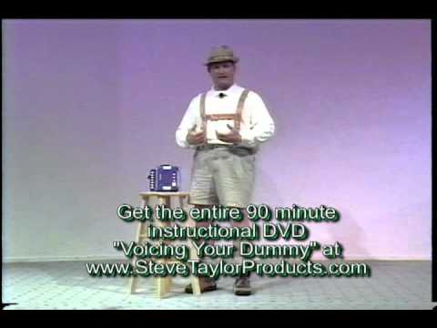 Learn Ventriloquism Lesson One with Steve Taylor