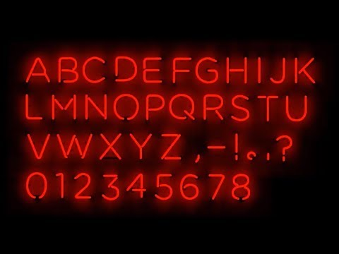 Neon Text Effect in Adobe Photoshop