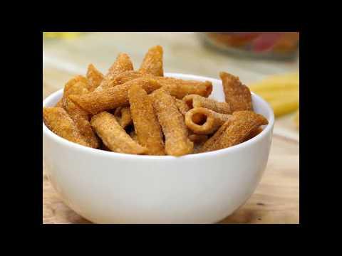 Homemade Crunchy pasta