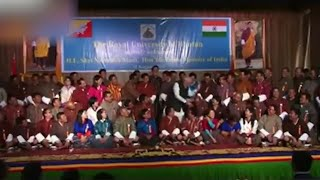 Watch: PM Modi's funny moment with Bhutanese MP leaves audience in splits
