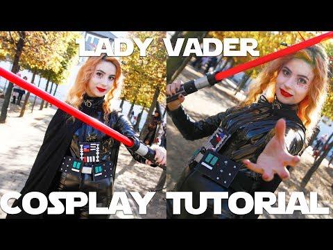 Lady Vader Full Cosplay Tutorial | Darth Vader Gender-Bend | Star Wars