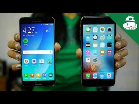 Galaxy Note 5 vs iPhone 6s Plus