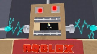 Super Spy and Robot Poop in Roblox Obby / Gamer Chad Plays