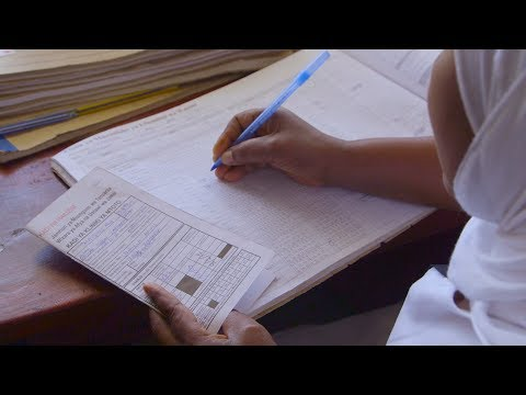 How to Complete an Immunization or Antenatal Care Register