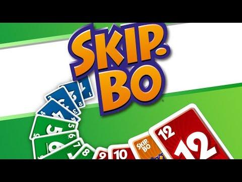 Playing Skip-bo