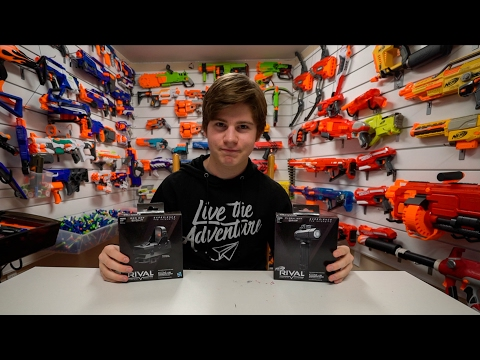 DOPEST NERF ATTACHMENTS EVER!! (New Rival Kits)