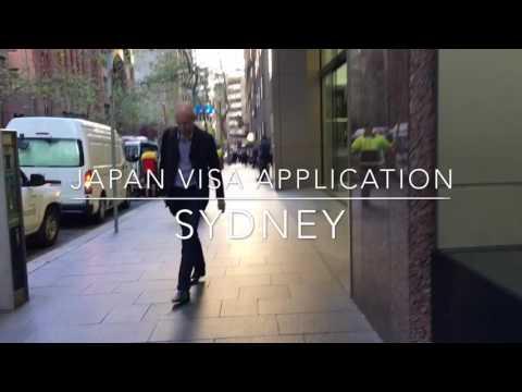 #Vlog 001 | Japan Visa application •Sydney• 14th July 2016