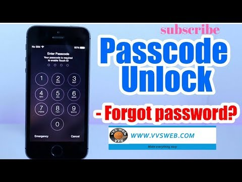 Unlock A disabled iPhone 5s | Factory Reset iPhone without Passcode