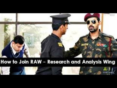R&AW intelligence || 4 easy step to join raw || hindi video