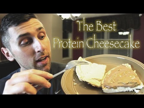 The Best Low Calorie Protein Cheesecake