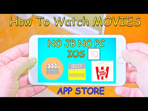 How To Watch MOVIES FROM APPSTORE NO JAILBREAK NO PC IOS 10