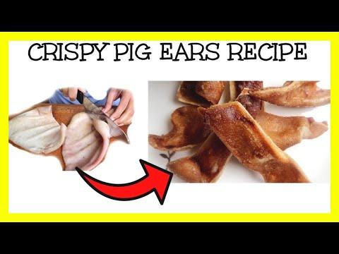 CRISPY PIG EARS RECIPE
