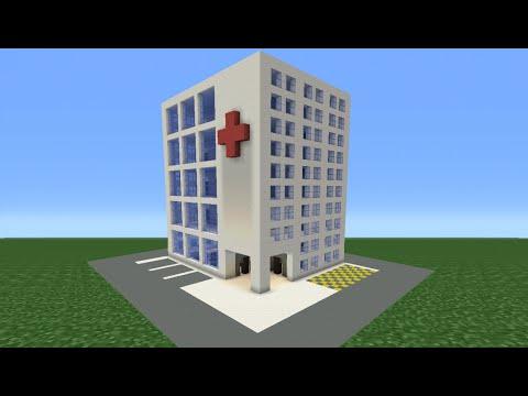 Minecraft Tutorial: How To Make A Hospital