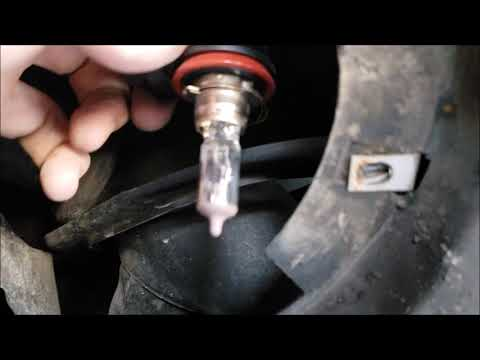 How to Replace the Headlight Bulbs on a 2012 Chevy Equinox.