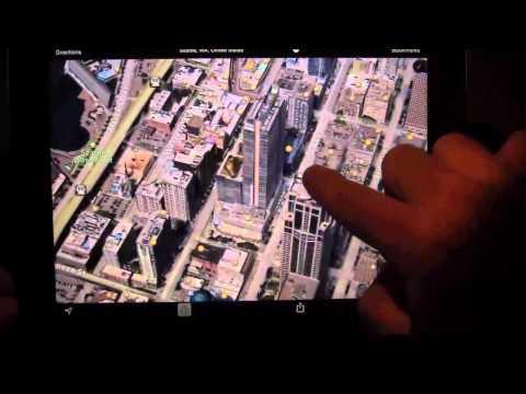 iPad -- Exploring 3D maps