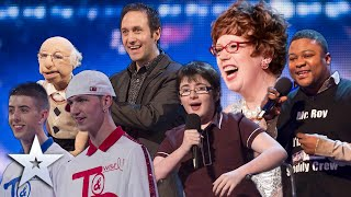 Top 5 BGT Comedy Moments | Series 1-10 | Britain's Got More Talent