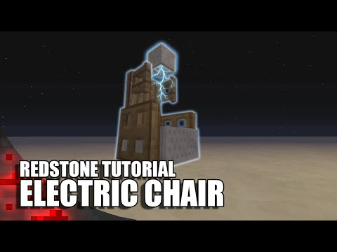 Minecraft: Working Electric Chair (Griefers Beware!)