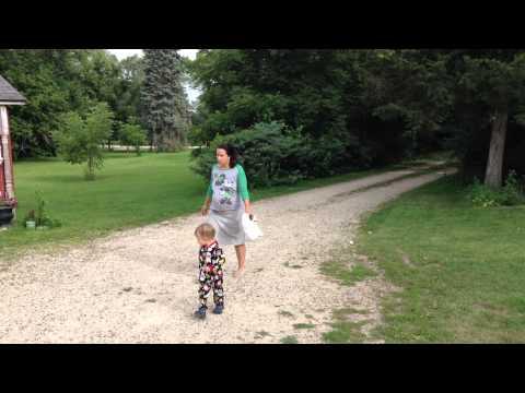 First Hour of Labor - Driveway Walk, Half-Way Farm