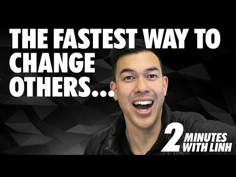 A Pro's Mindset: The fastest way to change others is to change yourself