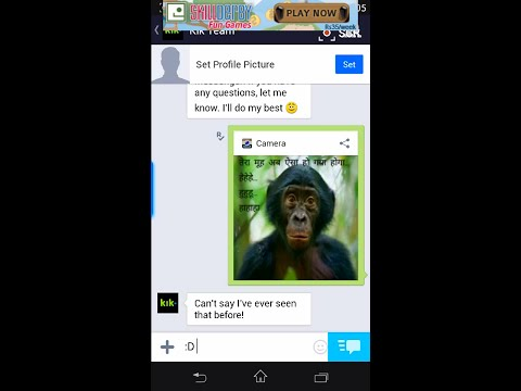 How to fake a live pic in new kik messenger(LATEST TUTORIAL)
