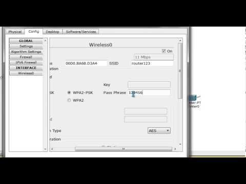 Tutorial Cisco Packet Tracer 6.0.1 Retea WLAN