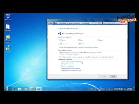 Setting up Homegroup in Win 7