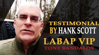 Tony Bandalos Learn Auto Body VIP Testimonial by Hank Scott